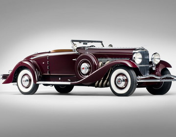 Duesenberg Model SJ Convertible Coupe 1935