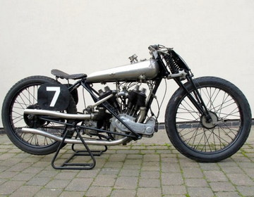 Brough Superior SS80 Old Bill 1922 фото