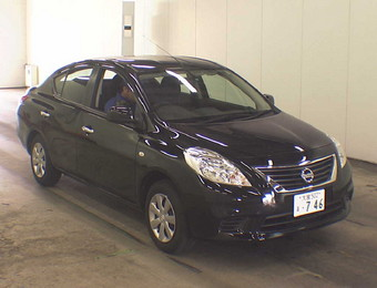 Nissan Latio 2012