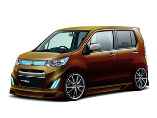Suzuki Wagon R Stingray Customize
