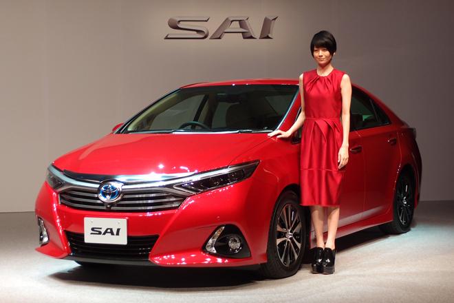Обновленная Toyota Sai 2014 представлена для внутреннего
