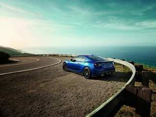 Subaru BRZ 2015 Series.Blue
