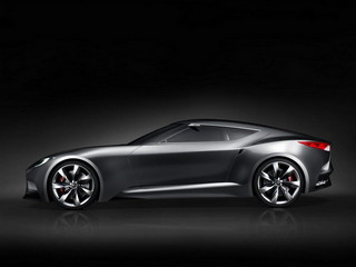 Hyundai Luxury Sports Coupe HND-9 Concept