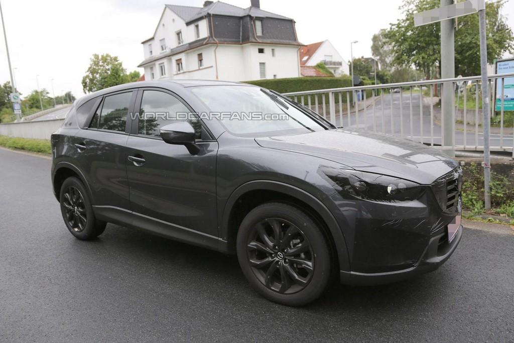 Lifted Nissan Xterra >> Шпионские фото обновленного Mazda CX-5 удалось сделать в ...