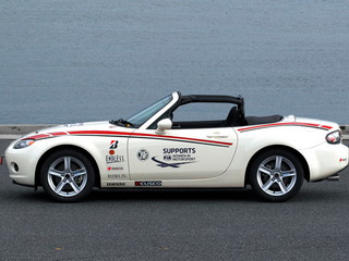 Mazda Roadster Women in Motorsport Test Vehicle