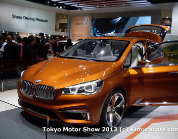 BMW Active Tourer Concept фото