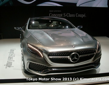 Mercedes-Benz S-Class Coupe Concept фото