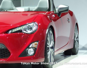 Toyota FT-86 Open Concept фото