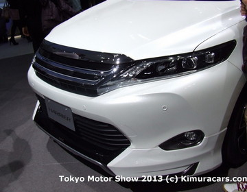 Toyota Harrier фото