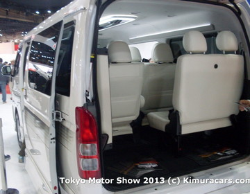 Toyota HiAce Customized фото