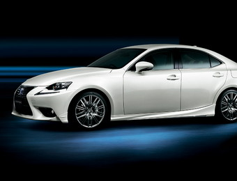 Тюнинг Lexus IS Modellista F Sport Parts