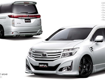 Тюнинг Nissan Elgrand Impul Kit