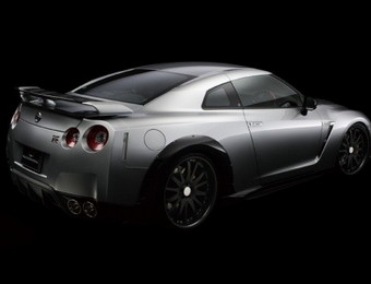 Тюнинг Nissan GT-R Wald Sports Line Black Bison Edition ver.1