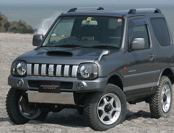 Тюнинг Suzuki Jimny Monster Sport