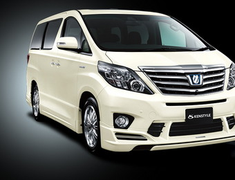 Тюнинг Toyota Alphard Kenstyle for S\SR (Selected by Modellista)