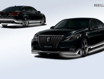 Тюнинг Toyota Crown Majesta Modellista