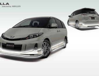 Тюнинг Toyota Estima Gialla ver for Aeras (Selected by Modellista)