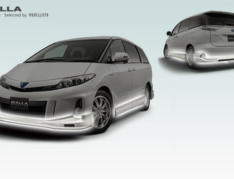 Тюнинг Toyota Estima Hybrid Gialla for Aeras (Selected by Modellista)