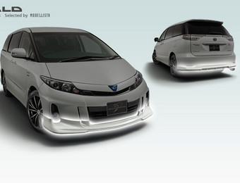 Тюнинг Toyota Estima Hybrid WALD for Aeras (Selected by Modellista)