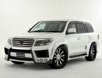 Тюнинг Toyota Land Cruiser 200 Double Eight EightStar Carbon ver.