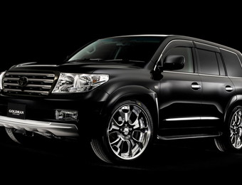 Тюнинг Toyota Land Cruiser 200 Goldman ver.1