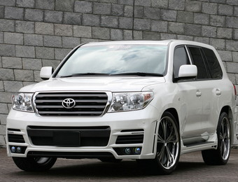Тюнинг Toyota Land Cruiser M'z Speed Exclusive Zeus Luv Line 2009-2012