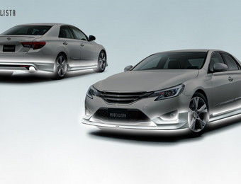 Тюнинг Toyota Mark X Modellista Sports\Standart