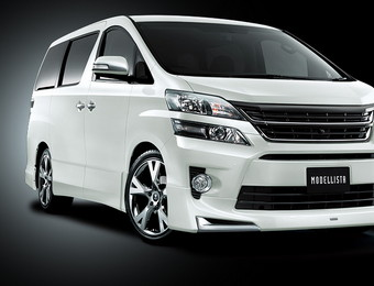 Тюнинг Toyota Vellfire for Z\ZR