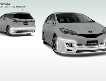 Тюнинг Toyota Wish admiration 1.8G-1.8X (Selected by Modellista)