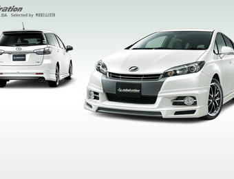 Тюнинг Toyota Wish admiration 1.8S-1.8A (Selected by Modellista)