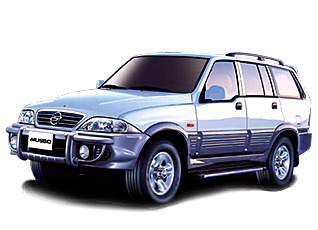 ssangyong musso 2005г.