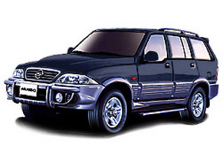 ssangyong musso 2003г.