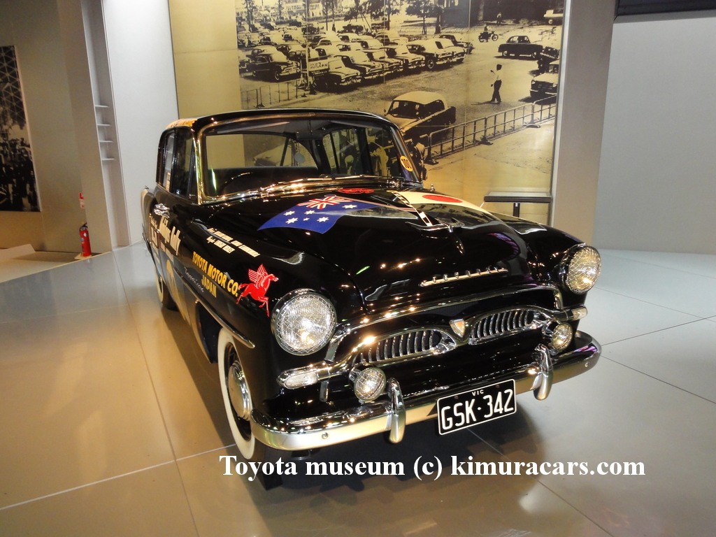Toyopet crown model rsd australia rally 1956 фото 2